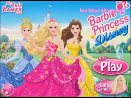 barbie princess dress up games you