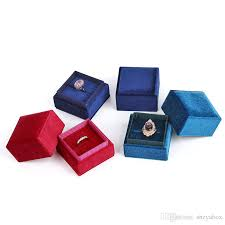 proposal ring box lovely square shape