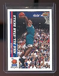 1991-92 Upper Deck #480 Larry Johnson Charlotte Hornets Rookie ...