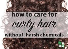 how to care for curly hair naturally