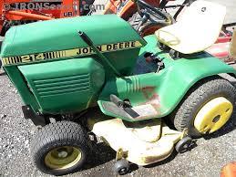 1985 john deere 214 garden tractor for
