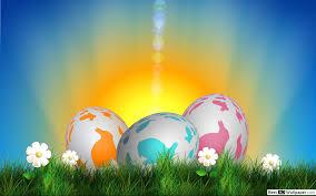 بيض عيد الفصح الملونة تنزيل خلفية Hd