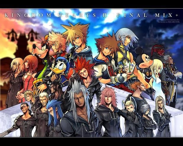 """Resultado de imagem para Kingdom Hearts 2"""""""