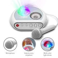 Karaoke Machine For Kids Singsation Party Portable Kids Karaoke Machine Comes With Microphone Room Filling Light Show Works Via Bluetooth No Cds Youtube Your Favorite Karaoke Songs