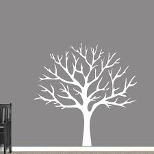 Winter Tree Wall Decal Bare Tree With Branches Decal Sweetums Signatures