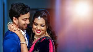 karthik arathi candid wedding