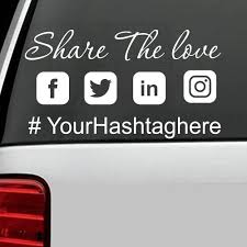 Your Custom Snapch T Name Decal Personalized Vinyl Sticker For Cars