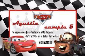 Invitaciones Cumpleanos Cars Para Fondo De Pantalla En 4k 7 Hd