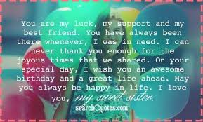 birthday quotes for sister best friend sister birthday quotes