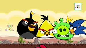 Finger Family Nursery Rhyme - Angry Birds Cartoon Finger Family ...