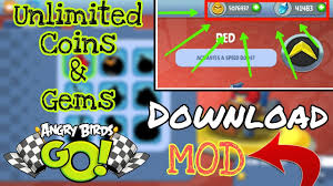Download||[MOD] Angry Birds GO{Unlimited Coins,Gems}|