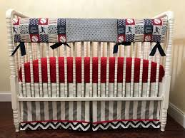 baseball crib bedding boy baby bedding