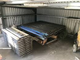 Concrete Fence Post Mould Gravel Board Moulds Mixer And Vibrating Table 3 200 00 Picclick Uk