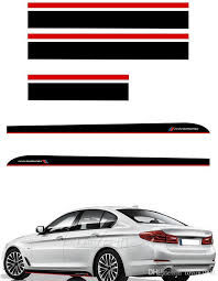 2020 Black Red M Performance Side Skirt Sticker Hood Roof Trunk Stripes Vinyl Decal Stickers For Bmw F20 F30 F10 F31 F11 F01 F22 F32 From Ldyou1990 92 Dhgate Com