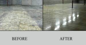 polished concrete vs floor coatings