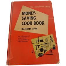 Money Saving Cook Book by Ida Bailey Allen : Colemans Collectibles | Ruby  Lane