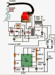 Electronic Circuit Projects A Homemade Fence Charger Energizer Circuit Explained Electronic Circuit Projects Circuit Projects Fence Charger