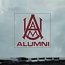 Alabama A M University License Plate Frames Car Decals And Stickers
