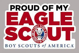 Proud Of My Eagle Scout Magnet Boy Scouts Of America