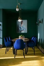 dark dining room modern ideas