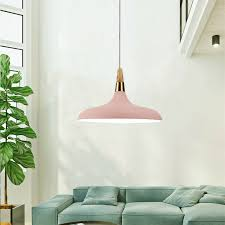 pendant light modern ceiling light pink