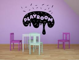 Playroom Donut Kids Vinyl Art Sticker For Play Room Playhouse Wall Decals Ebay