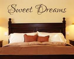 Bedroom Wall Decals Etsy