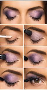 easy makeup lovely purple eyeshadow