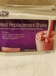 advocare meal replacement shake berry