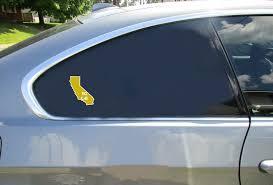 So Cal California State Shaped Sticker U S Custom Stickers