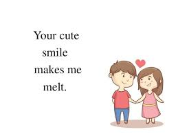 cute love quotes to make her smile and feeling shy