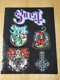Ghost The Band Vinyl Sticker Sheet From Vip Meet And Gr