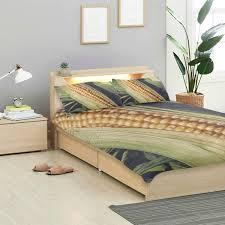 Amazon Com Montoj Sweet Fresh Corn Bed Sheets Set Standard Bedspread Twin Size Cover Kids Duvet Cover Set 3 Piece Bedspread Home Kitchen