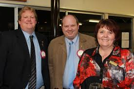 Stanthorpe lions club members Adrian Green, Stuart Perrett and Kaylene ...    Buy Photos Online   Stanthorpe Border Post