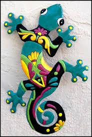gecko wall art indoor or outdoor wall