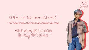 exo 엑소 forever lyrics color coded han rom eng
