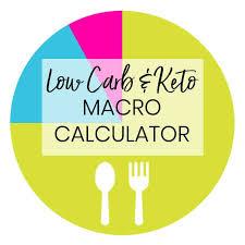 low carb keto macro calculator