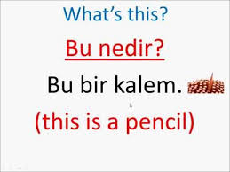 turkish lessons 7 demonstratives this