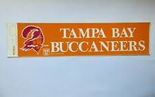 Tampa Bay Buccaneers Football Vintage Sports Stickers For Sale Ebay