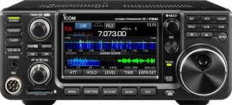 icom ic 7300 hf plus 50 mhz
