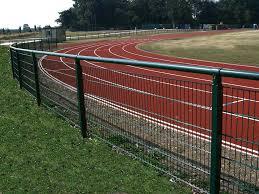 Athletics Track Fencing Fences For Running Track Sports Zaun