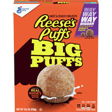 reese s puffs big puffs cereal 15 5 oz