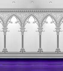 Medieval Archways Corridors Vinyl Decal Sticker Wall Home Office Bedroom Decor On Etsy 195 00 Medieval Decor Indian Decor Archway