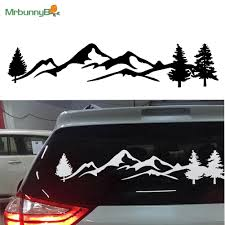 Black Tree Mountain Northwest Decal Scene Vinyl Sticker For Car Truck Special Archives Midweek Com