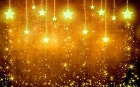 تحميل خلفيات 4k الذهبي Starfall النجوم لامعة الإبداعية النجوم