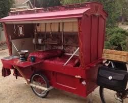 builds a bicycle propelled micro wagon