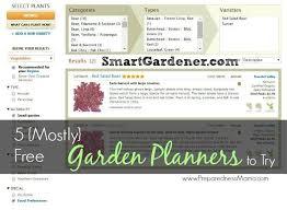 free vegetable garden planners