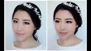 easy bridal makeup tutorial asian