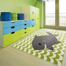 Geometric Green 5 Ft X 7 Ft Area Rug Bedroom Dorm Playroom Office Kids Teen For Sale Online Ebay