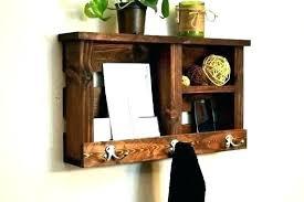 key and mail wall organizer